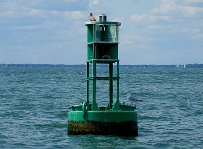 Photograph - Buoy 21 by Michiale Schneider