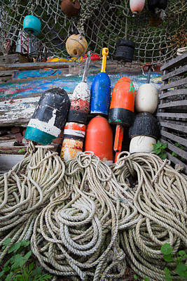 Photograph - Buoys 2 by Emmanuel Panagiotakis