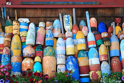 Photograph - Buoys by Emmanuel Panagiotakis
