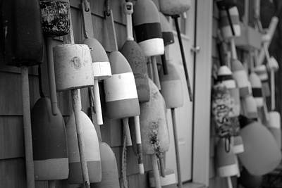Buoys Print by Eric Gendron