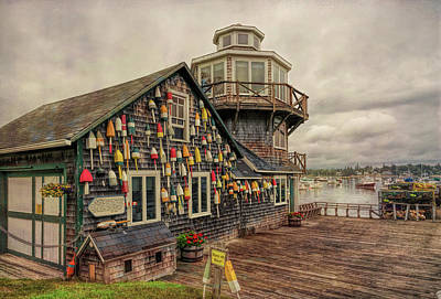 Photograph - Buoys For Sale by John M Bailey