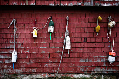 Photograph - Buoys In Belfast by Dan Poirier