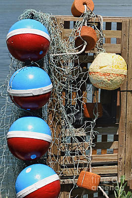 Photograph - Buoys by Olga Hamilton