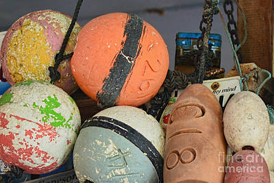 Photograph - Buoys Retirement  by Olga Hamilton