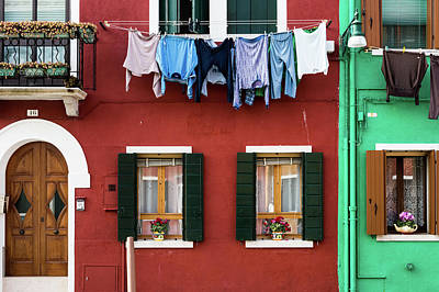 Photograph - Burano 1 by M G Whittingham