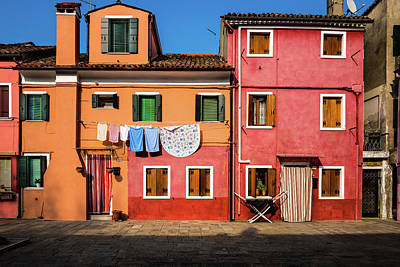 Photograph - Burano 2 by M G Whittingham