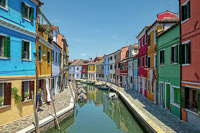 Photograph - Burano Byways by Kay Brewer