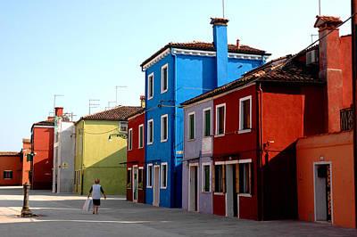 Burano Colors Art Print by Diego Bonomo