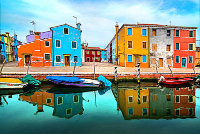 Burano Colors Original by Ivan Vukelic