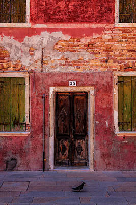 Photograph - Burano Entrance by Andrew Soundarajan