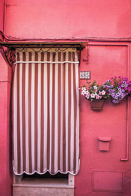 Photograph - Burano Entry by Andrew Soundarajan