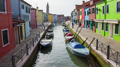 Photograph - Burano Italy Canal  by John McGraw