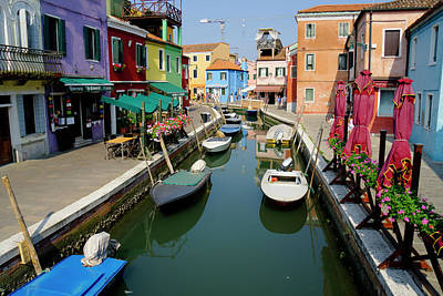 Photograph - Burano Morning by Alan Toepfer
