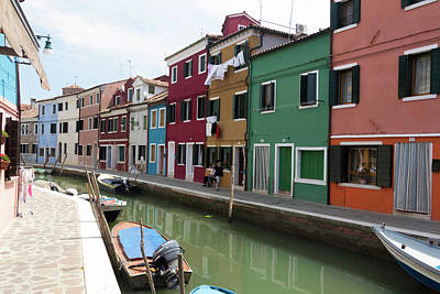 Photograph - Burano by Pietro Ebner