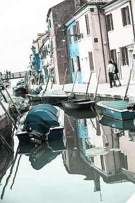 Photograph - Burano Street by Jean Gill