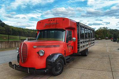 Photograph - Bourbon Bus by Joseph Caban