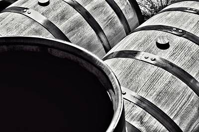 Photograph - Bourbon Making Barrel by Joseph Caban