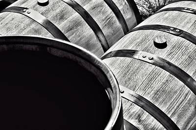Photograph - Bourbon Making Barrel by Joseph Caban