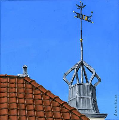 Painting - Bureau Of Tourism Amsterdam by Rob De Vries