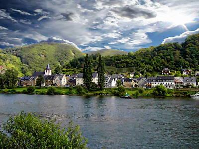 Europe Photograph - Burgen Wine Region by Anthony Dezenzio