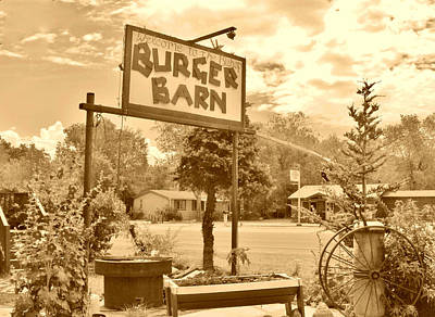 Photograph - Burger Barn by Marilyn Diaz