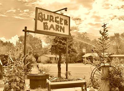 Photograph - Burger Barn by Marilyn Diaz