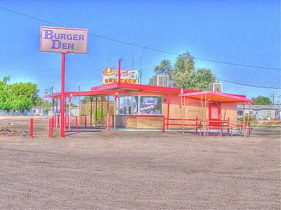 Yermo Photograph - Burger Den by Douglas Settle