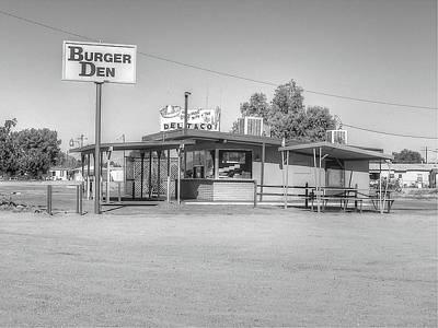 Yermo Photograph - Burger Den,orig Del Taco by Douglas Settle