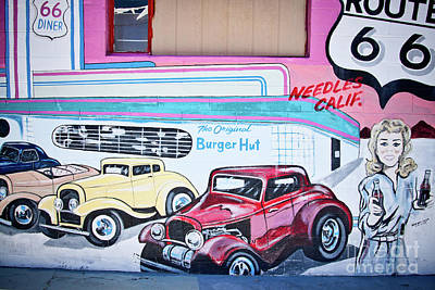 Photograph - Burger Hut by Tatiana Travelways