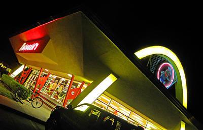 Photograph - Burger Joint by Elizabeth Hoskinson