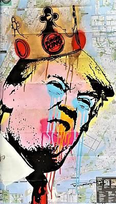 Photograph - Burger King Trump by Rob Hans