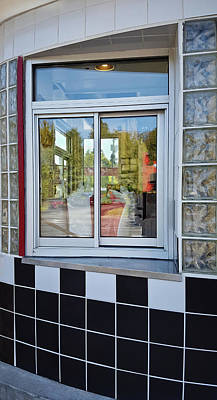Photograph - Burger Joint Order Window by Greg Jackson