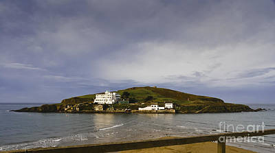 Burgh Photograph - Burgh Island Devon by Donald Davis
