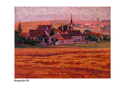 Painting - Burgundy Viii by Betsy Derrick