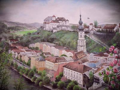 Painting - Burhausen by Sorin Apostolescu