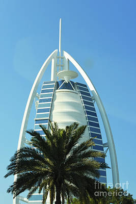Photograph - Burj Al Arab by Hanza Turgul