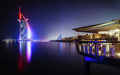 Photograph - Burj Al Arab In Dubai, United Arab Emirates by Alexandre Rotenberg