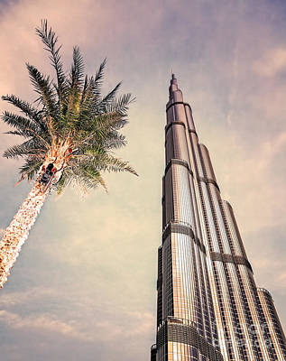 Photograph - Burj Khalifa by Anna Om