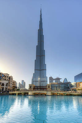 Photograph - Burj Khalifa Dubai by David Pyatt
