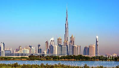 Burj Khalifa From Ras Al Khor Original