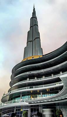 Photograph - Burj Khalifa by Maria Coulson
