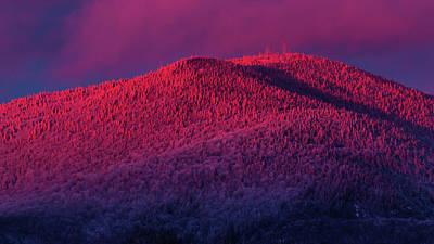 Photograph - Burke Alpenglow by Tim Kirchoff