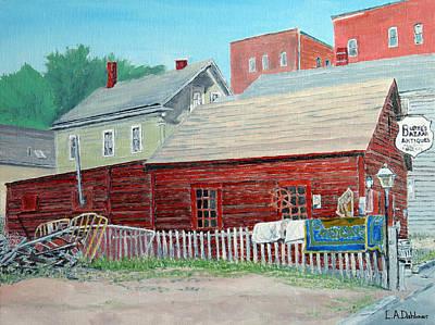 Painting - Burke's Bazaar by Laurence Dahlmer