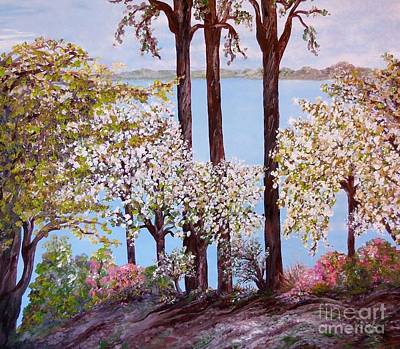 Savannah In Spring Art Print