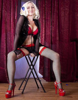 Photograph - Burlesque 1 by Joel Gilgoff