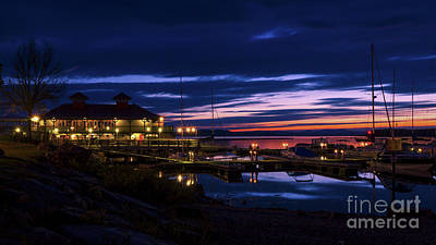 Photograph - Burlington Boat House by Scenic Vermont Photography