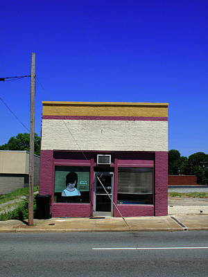 Photograph - Burlington, Nc - Small Town Business 2009 by Frank Romeo