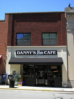 Photograph - Burlington, North Carolina Cafe by Frank Romeo