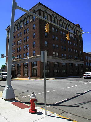 Photograph - Burlington, North Carolina - Main Street 2 by Frank Romeo