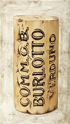 Cork Painting - Burlotto by Danka Weitzen